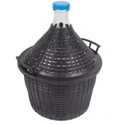 Balon Butla Do Wina W Koszu Plastikowym 20L Gąsior