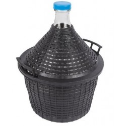 Balon Butla Do Wina W Koszu Plastikowym 15L Gąsior