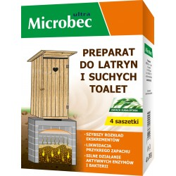 BROS MICROBEC PREPARAT DO LATRYN I SUCHYCH TOALET 4X30 GRAM