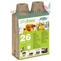 DONICZKI TORFOWE JIFFY 26 SZT 6CM ROZSADA BIO VEFI R6-26