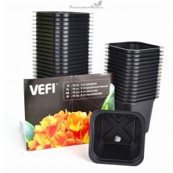 VEFI- DONICZKI KWADRATOWE 6 CM (40X44SZT/KART) 800503