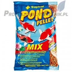 POKARM DLA RYB POND PELLET MIX 1L/130G WOREK TROPICAL
