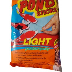 KARMA PASZA DLA RYB RYBEK POND STICKS LIGHT 1000ML/90G WOREK TROPICAL