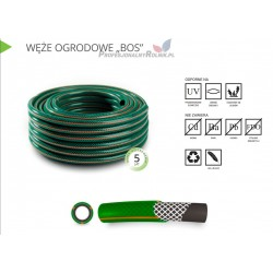 WĄŻ DO WODY 1/2'' 25 mb GREENBOS ZIELONY POLIX