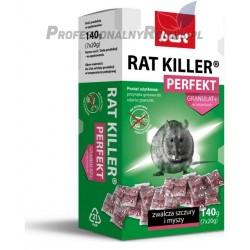 BEST RAT KILLER PERFEKT GRANULAT 140G MYSZY SZCZURY